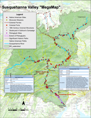Mapping The Watershed Stories Of The Susquehanna Valley - Interactive map us watershed